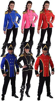 Uniform Sakko Jacke Offizier Garde Fanfaren Kostüm Herren Damen Gardeoffizier