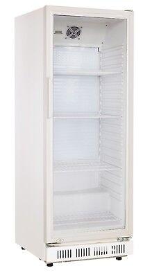 Getränkekühlschrank 230 mit Glastür Flaschenkühlschrank Gastro Kühlschrank-schrank