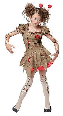 Creepy Girl Costume (Creepy Voodoo Dolly Rag Doll Puppet Girls)
