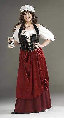 Tavern Wench - Plus Size - Medieval Renaissance Game of Thrones