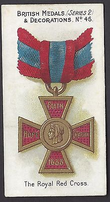 TADDY - BRITISH MEDALS & DECORATIONS (BLUE BACK) - #46 THE ROYAL RED CROSS