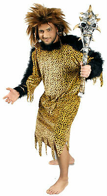 Kostüm Neandertaler Höhlenmensch Steinzeitmensch Urzeit Gr. L Karneval Fasching