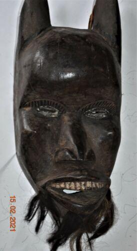 """orig $399 DAN GUERE HORNED MASK EARLY 1900S 22"""" PROV"""