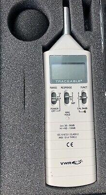 Vwr Sound Level Meter 12777 836