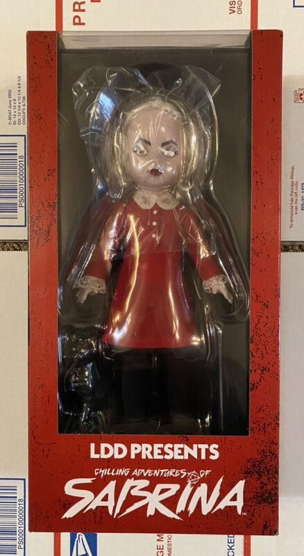 """Mezco Living Dead Dolls """"Chilling Adventures Of Sabrina"""" Doll Complete In Box"""