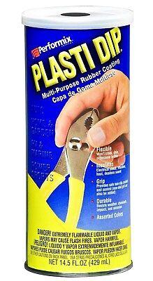 Black Plasti Dip Liquid Flexible Rubber Coating 14.5 Ounce Can Performix 11603-6