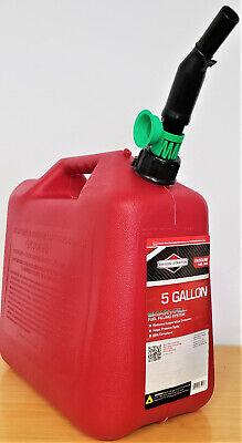 5 Gallon Gasoline Fuel Tank Portable Storage Container Plastic Gas Can