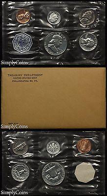 1963 Proof Set With COA ~ Flat Pack Original Envelope ~ US Silver Mint Coin Set
