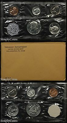 1964 Proof Set With COA ~ Flat Pack Original Envelope ~ US Silver Mint Coin -