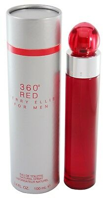 360 Red For Men 3 4 Oz Edt Spray New In A Box By Perry Ellis