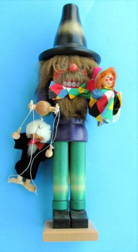Christian Ulbricht 17.5 inch Puppeteer German Wooden Nutcracker