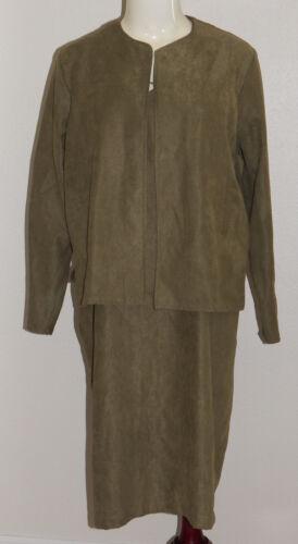 Motherwear Sleeveless Nursing Dress Jacket Olive Green Women