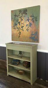 Shaker Style Bookcase with Planter Top