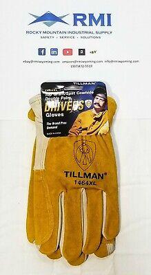 Tillman 1464 Top Grain Cowhidesplit Drivers Gloves Xl