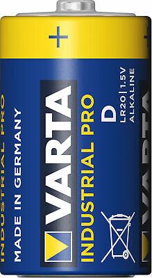 20 x Varta Industrial Pro Mono D 1,5V LR20 MN1300 Alkaline 4020 lose / bulk