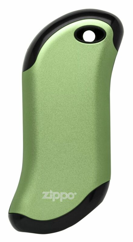 Zippo HeatBank 9s Green Rechargeable Gaming Hand Warmer, 40585 (USB cable inc...