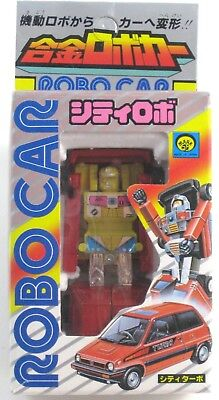 Robo Car City Turbo Figure by Mark Company Vintage