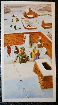 DEVIL'S HOOFPRINTS Mystery   Devon    Original Colour Card   VGC