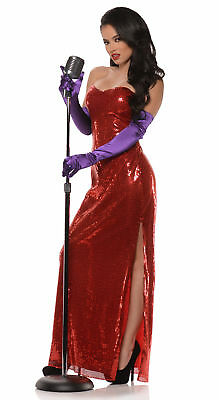 Underwraps Bombshell Jessica Rabbit - Adult Costume  - Adult Rabbit Costumes