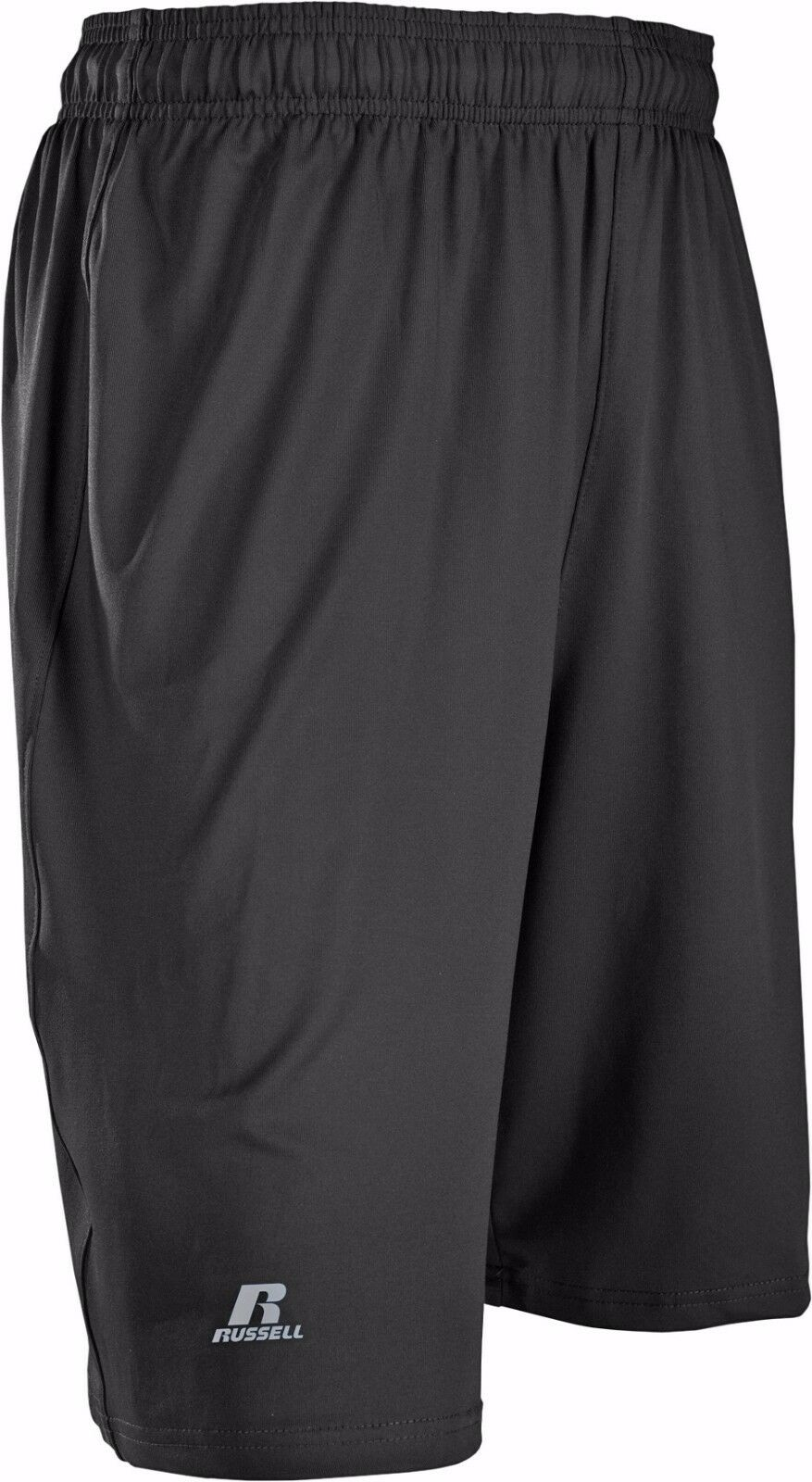 Russell Athletic Men's Stretch Performance Short, Black, Sma