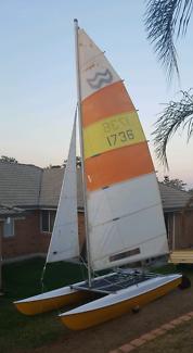 Windrush surfcat 14 catamaran