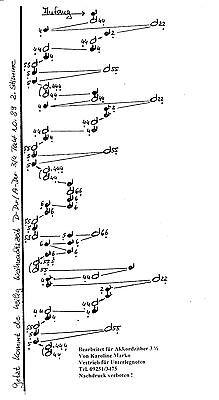 Weihnachtliche Klänge-  Unterlegnoten