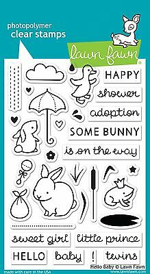 Lawn Fawn Photo-polymer Clear Stamp