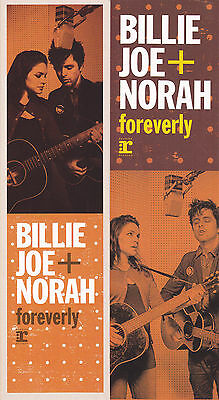 Billie Joe + Norah BOOKMARK Foreverly 2013 PROMO Jones Armstrong Green Day MINT
