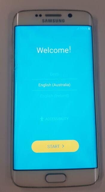 Samsung  Galaxy S6 edge SM-G925I - 64GB - White Pearl Smartphone unlocked