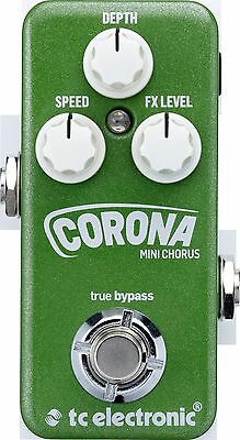 New TC Electronic Corona Mini Chorus Guitar Effects Pedal!