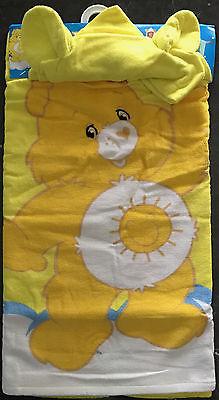 Care Bears - Funshine - Hooded Beach Towel - Size 60 x 120cm -