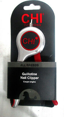 Guillotine Dog Nail Clipper - Chi Guillotine Nail Clipper for All Breeds of Dogs - New