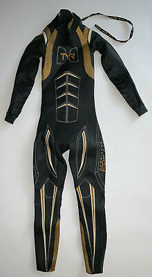 cca148c3ccc49 TYR Womens Small Freak of Nature HURRICANE Black Gold Triathlon Swim Wetsuit  New