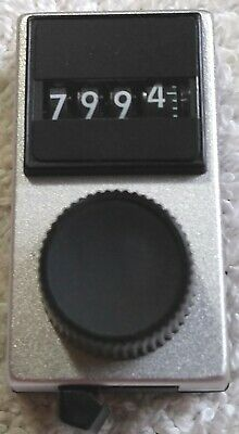 Spectrolvishay - Model 15 - Turns Counting Dial 4 Digit 14 Shaft Nos
