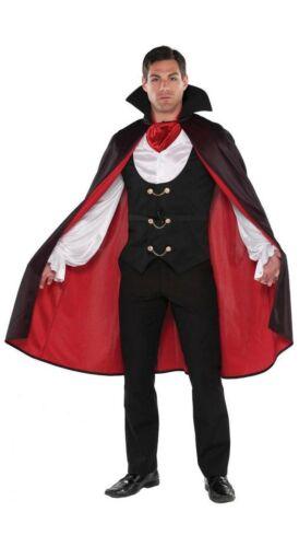Vampire Costume Count Dracula Twilight Halloween Fancy Dress Sz Large True Vamp