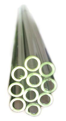 Borosilicate Glass Tubing 7mm D 24 In. L 10-piece Pack