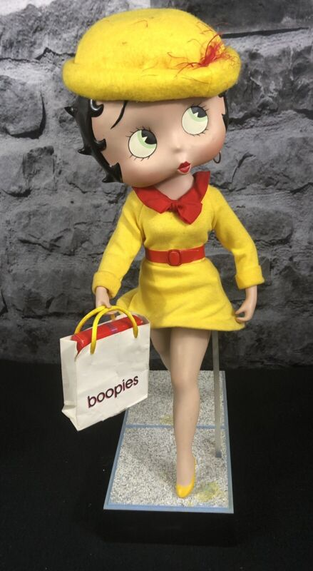 "16"" Porcelain Betty Boop Doll"