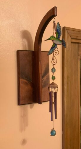 Wind Chime Display   Handcrafted   Made in USA   Wall-mounted Chime Hanger