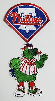 MLB BASEBALL PHILA. PHILLIES PHANATIC MASCOT & LOGO EMBROID