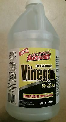 LA's Totally Awesome  cleaning vinegar  (64 oz 1/2 gallon )