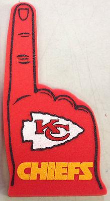 Kansas City Chiefs Foam Finger #1 Fan - 18 in! Great for Super Bowl Party!](Super Party City)