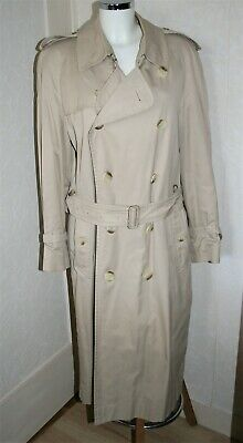 Imperméable strench homme burberry's  taille l beige