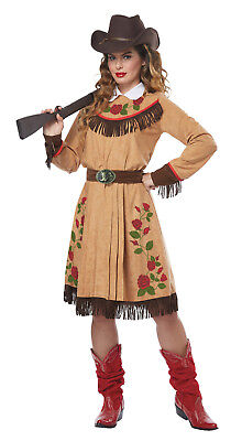 Cowgirl Anne Oakley Adult Women Costume (Cowgirl Adult Costumes)