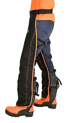 OREGON ONE SIZE FITS ALL UNIVERSAL FRONT PROTECTION CHAINSAW LEGGINGS 575780