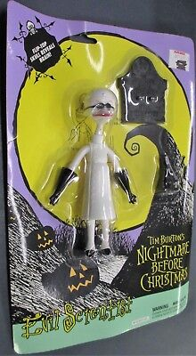Evil Scientist Nightmare Before Christmas Action Figure Toy NEW ()