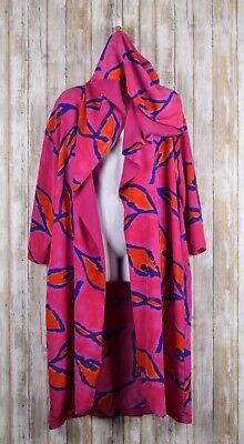 Victoria's Secret Sheer Hooded Robe pink, red, blue sz. - Red Hooded Robe