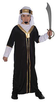 Kinder Sultan Junge # Arabischer Scheich Kostüm Alladin Weiser Mann 3 - Arabische Mann Kostüm