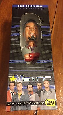 Chris Kirkpatrick  NSync Bobblehead Doll 2001 Collectable  NEW Sealed - Best Buy
