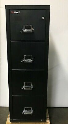Fireking 25 Fireproof Cabinet 41825c Legal 18 Wide 4 Drw1-hr Fire Rated Wrty
