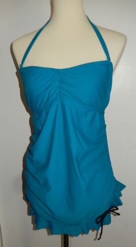 Liz Lange Maternity Blue Tankini Swim Top Women